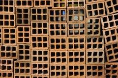 Piled Hollow Brick Stock Photography