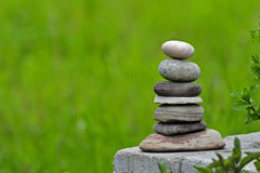 Piled Stones Stock Photography