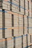 Piled up bricks Stock Photography