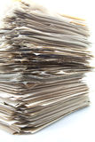 Piled up documents Royalty Free Stock Photography