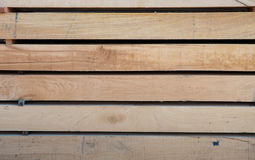 Piled up wood Stock Photography