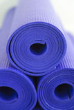 Piled Yoga Mats Royalty Free Stock Photography