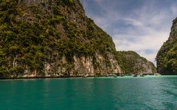Pileh Bay, Phi Phi Islands, Krabi , Thailand stock photography