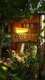 Pilehouse de madera Foto de archivo libre de regalías