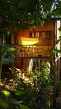 Pilehouse di legno fotografia stock libera da diritti