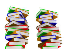 Piles of books Royalty Free Stock Images