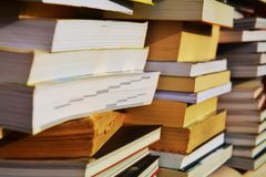Piles of books, education concept Stock Photography