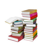Piles of books Royalty Free Stock Image