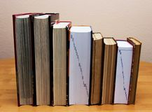 Piles of books. royalty free stock images