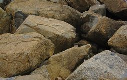 Piles of boulders royalty free stock photo