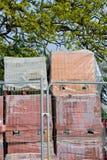 Piles of bricks Royalty Free Stock Photo
