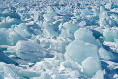 Piles of broken ice Royalty Free Stock Photography