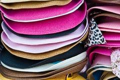 Piles d'été coloré Images libres de droits