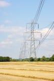 Pilões da eletricidade Imagem de Stock Royalty Free