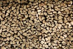 Piles de bois Images libres de droits