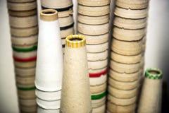 Piles de cônes de carton Images libres de droits