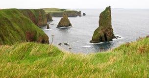 piles de mer de falaises Photographie stock libre de droits