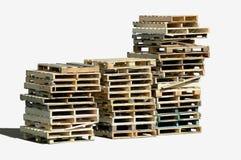 Piles de palette Photo libre de droits