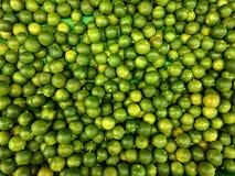 Piles des chaux fraîches Image libre de droits