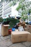 Piles des ordures Images libres de droits