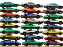 Piles des véhicules de jouet Photographie stock