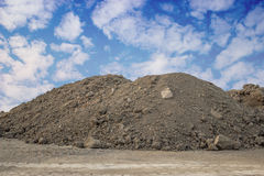 Piles of Dirt Stock Photography