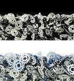 Piles of gears Royalty Free Stock Photos