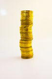 Piles of gold coins Stock Photography