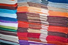 Piles of handkerchief Stock Photo