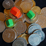 Piles of money Royalty Free Stock Photography