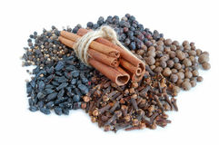Piles Of Spices. Stock Photography