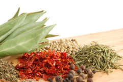 Free Piles Of Spices Stock Photography - 9768502