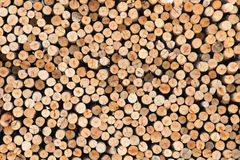 Piles Of Wood. Royalty Free Stock Photo