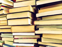 Piles of old books Stock Photography