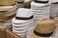 Piles of tribly hats Royalty Free Stock Images