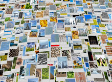 Piles of photo background Royalty Free Stock Photo