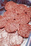 Piles of raw Beef Stock Photography