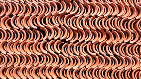 Piles of roof tiles Royalty Free Stock Images