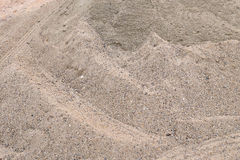 Piles sand Stock Photography