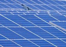 Piles solaires Photos stock