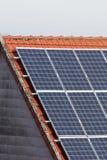 Piles solaires images libres de droits