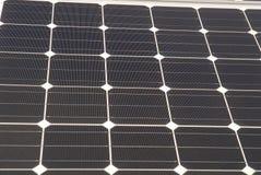 Piles solaires Photo stock