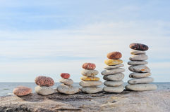 Piles of Stones Royalty Free Stock Image
