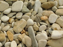Piles of stones and rocks Stock Image