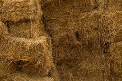 Piles of straw Royalty Free Stock Images