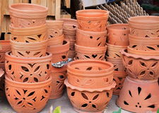 Piles of terracotta pot Stock Photography