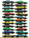 Piles of Toy Cars Royalty Free Stock Photography