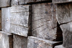 Piles of wood texture Royalty Free Stock Image