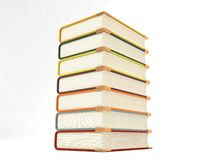 Pileup notebooks Royalty Free Stock Photo