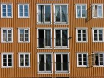 pilework okno Obrazy Royalty Free